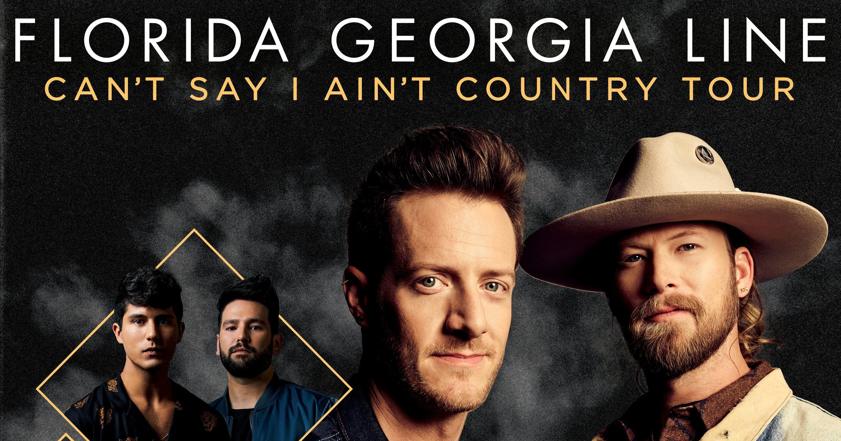 Florida Georgia Line Announces Cant Say I Aint Country