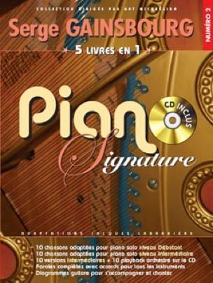 Mecano Une Femme Avec Une Femme Paroles : mecano, femme, paroles, Piano, Signature, Numéro, Serge, Gainsbourg, Laflutedepan.com