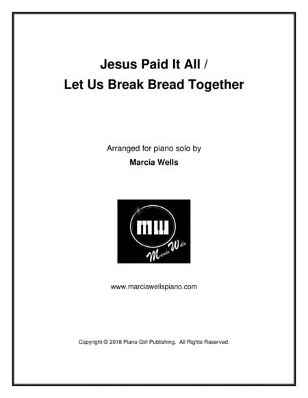 Let Us Break Bread Together Violin Piano In D Major Free