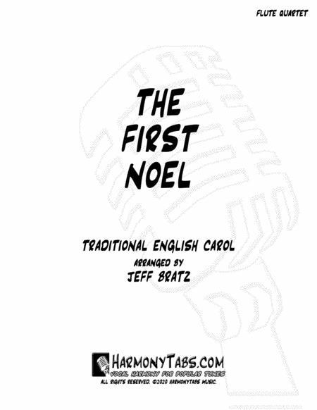 The First Noel Flute Quartet Free Music Sheet