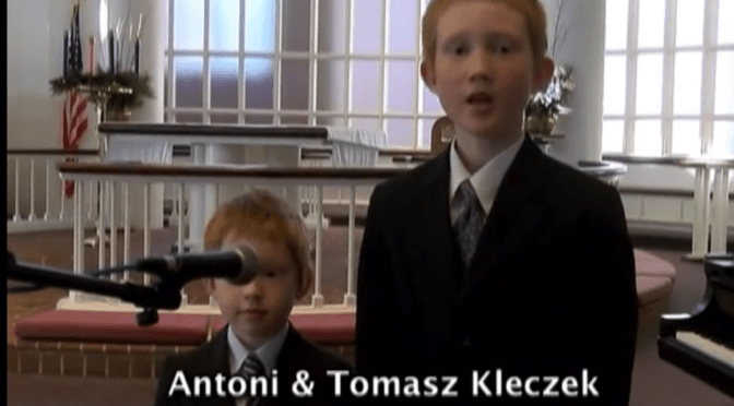 Kleczek children performances