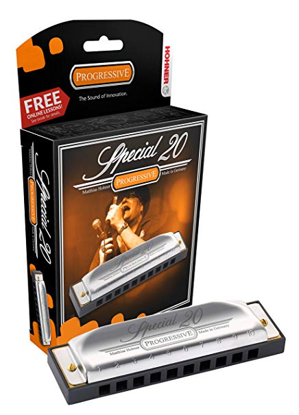 Best Blues Harps by Hohner