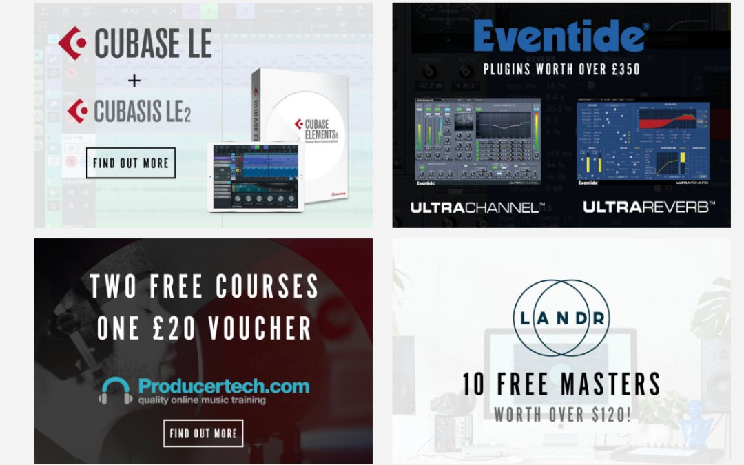Claim Your Free Cubase LE 9 & Many Other Attractive Plugins Now.