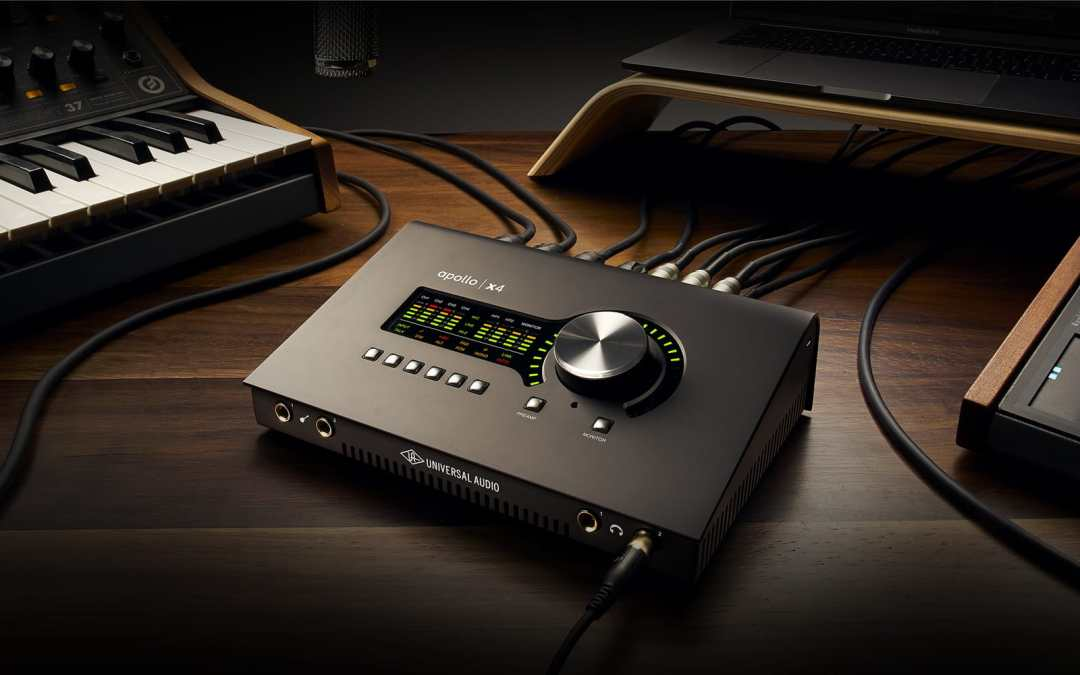 UAD (Universal Audio) Apollo Twin X & X4 Audio Interface Have Arrived
