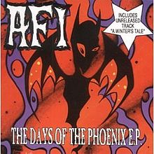 AFI - The Days of the Phoenix EP - album cover