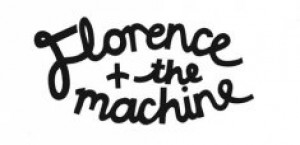 Florence + The Machine Logo - black on white