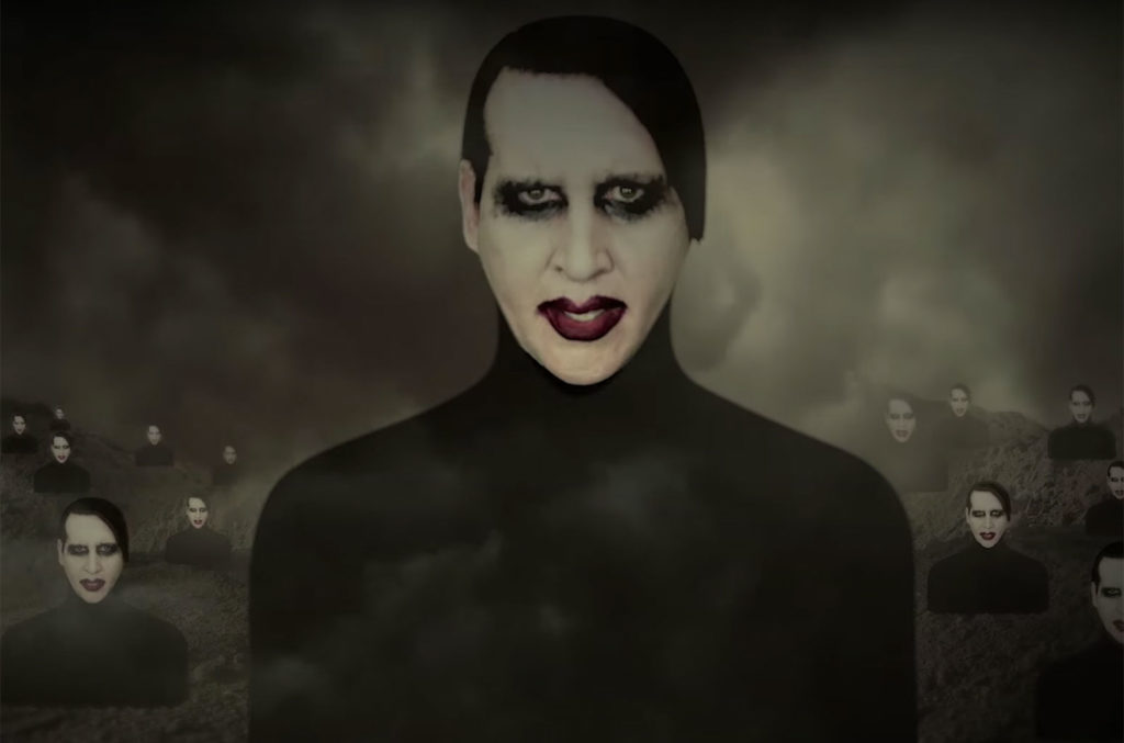 Marilyn Manson Music Trajectory 2020