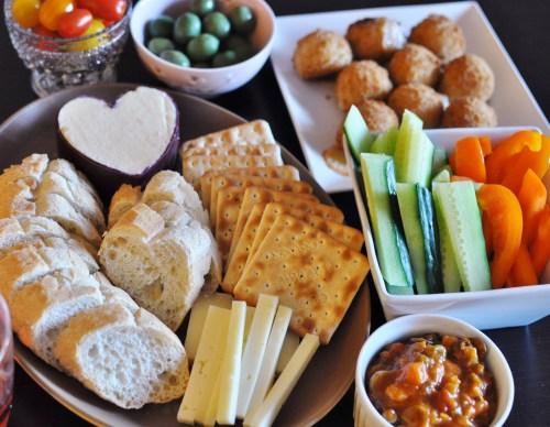 celebratory cheese etc.