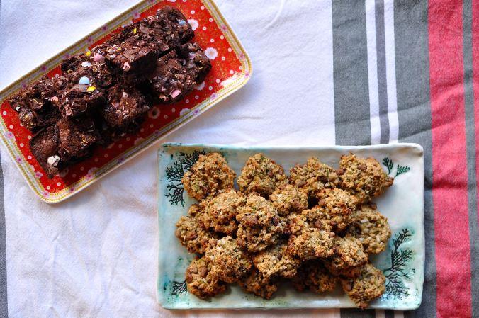 Easter Cookies and Brownies