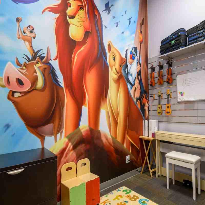 Preschool Lion King Music Lesson Room 2