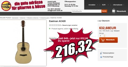 Eastman AC420