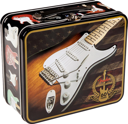 921-4770-406 Fender 60th Anniversary Lunchbox