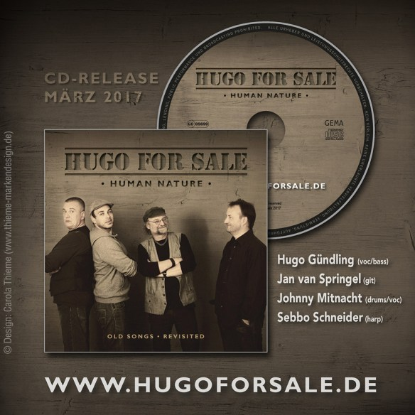 Hugo For Sale // CD Cover Human Nature
