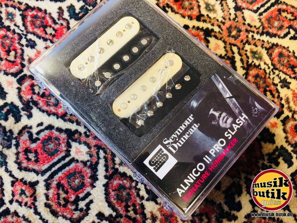 Seymour Duncan Slash Alnico II Pro Humbucker, Set (zebra neck:rev. zebra bridge).jpg