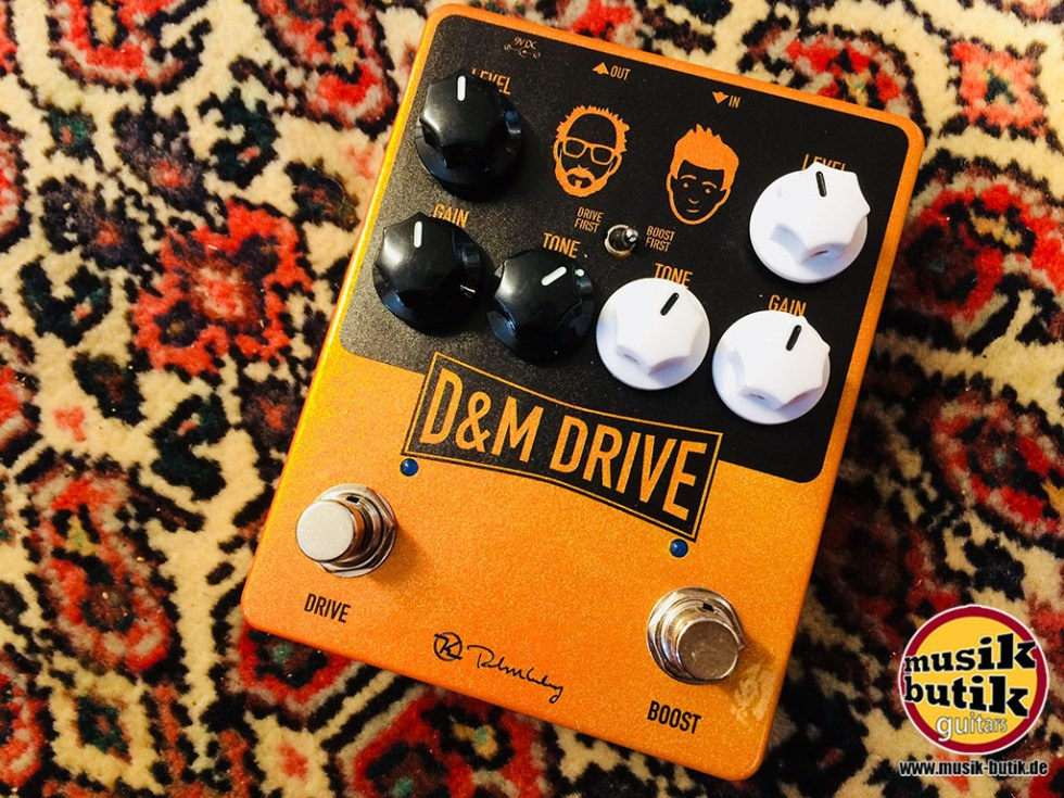 Keeley D&M Drive - Daniel Steinhardt & Mick Taylor (That Pedal Show) Signature Overdrive : Boost
