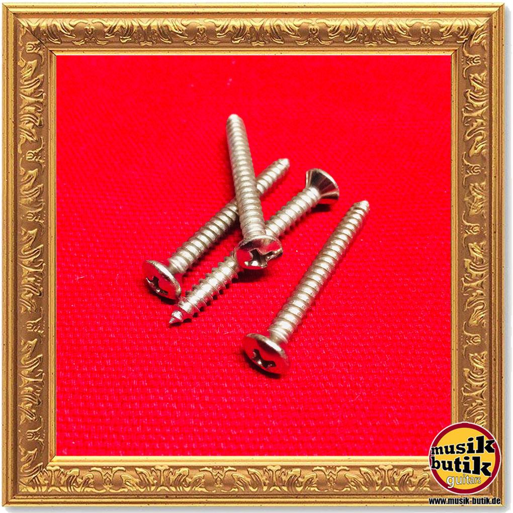 Goeldo SRD7N Vintage Mechaniken-Schraube 2,5 x 10 mm nickel