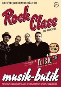 Plakat A2 Rock Class 2019
