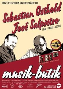 Plakat A2 Sebastian Osthold, José Salpietro 2020