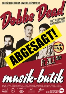 Plakat A2 Dobss Dead 2020