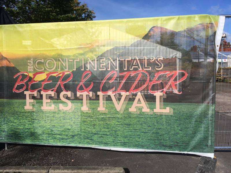 The Continental's Beer and Cider Festival 2017
