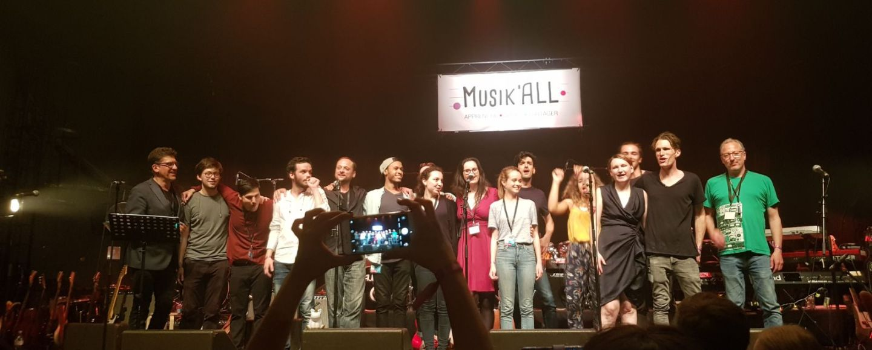 Les professeurs de l'équipe Musik'All école de musique à Paris