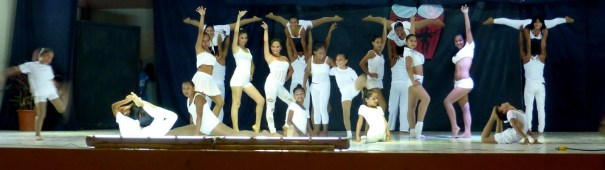Tänzer in weiß