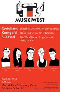 Musikiwest Concert April 19, 2018