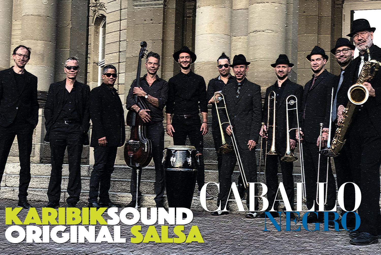 Caballo Negro auf der Musikprob