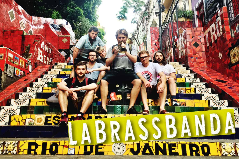 La Brass Banda auf der Brassweek