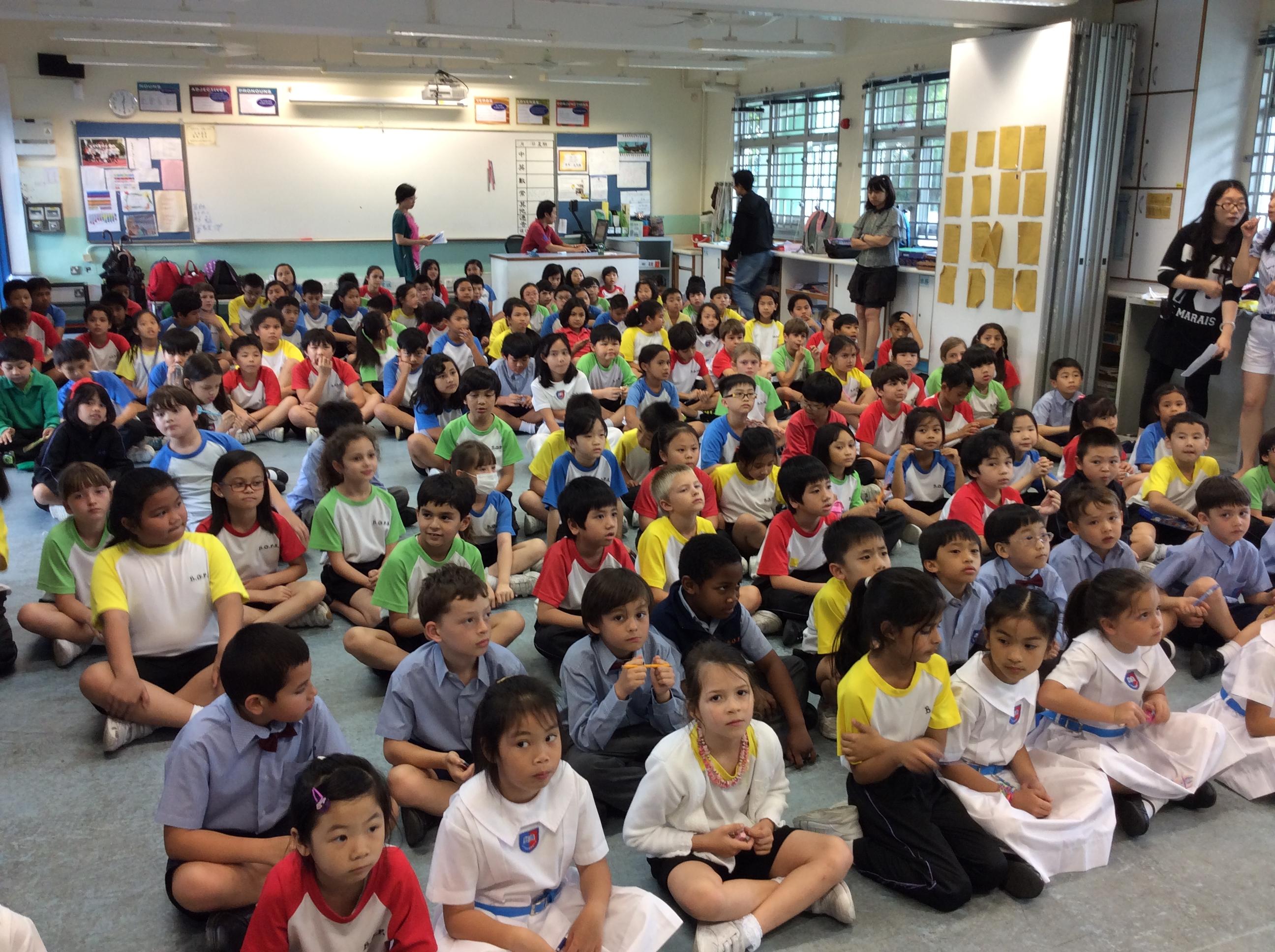 杯澳公立學校音樂日! Bui O Public School Music Day! – Musikschule Program Hong Kong