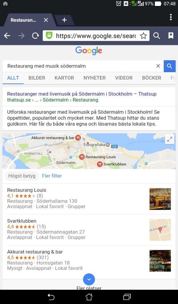 Sökresultat för restaurang