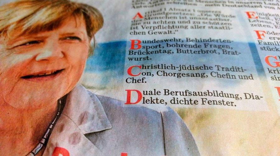 Das ABC der Deutschen. BILD-Zeitung