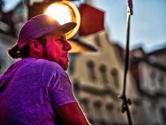 Flüstertüte. Foto: Hufner