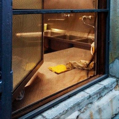 Blick in die Küche. Foto: Hufner