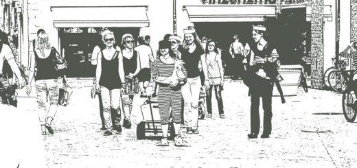 Entleerung der Öffentlichkeit. Foto: Hufner