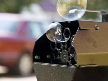 Seifenblasen. Foto: Hufner