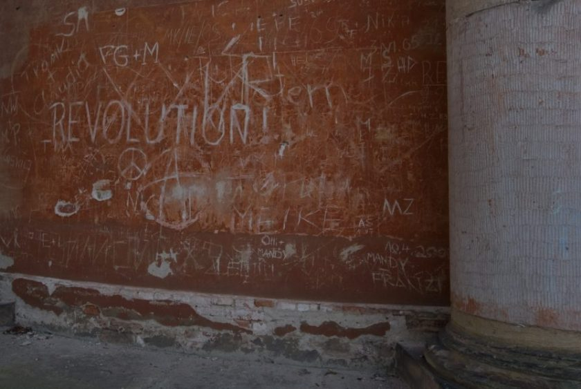 Revolution und Peace. Foto: Hufner