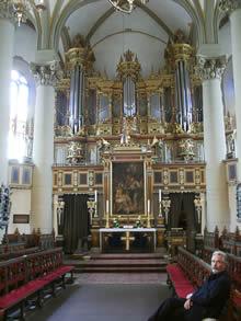 Orgel Bückeburg. Details