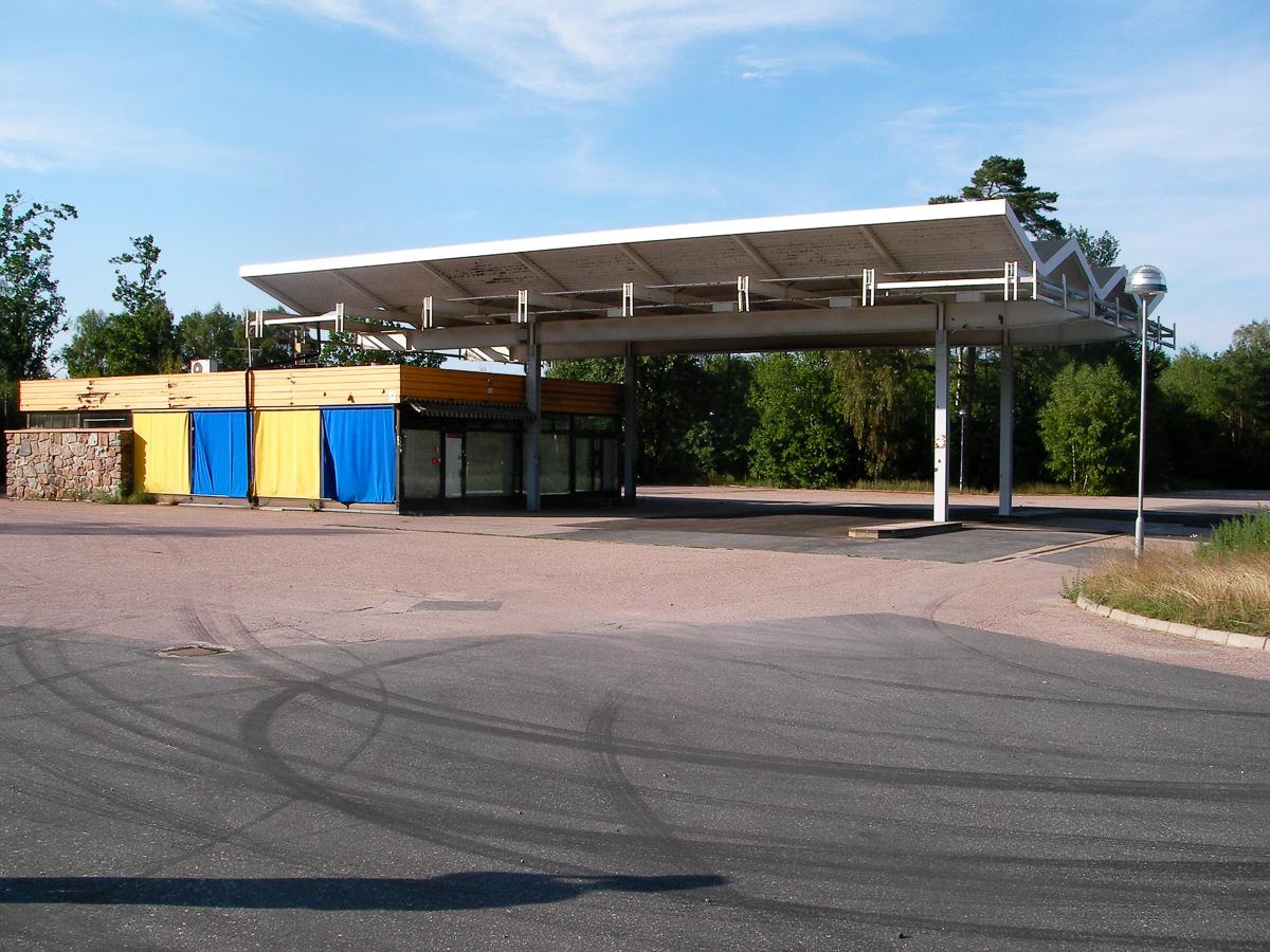 Tankstelle. Foto: Hufner