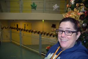 Youth Chaplaincy Program Founder, Terri Stewart. Christmas at the King County Youth Detention Center, Seattle, Washington