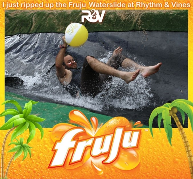 Tearing up the Fruju Slide (Gisborne)