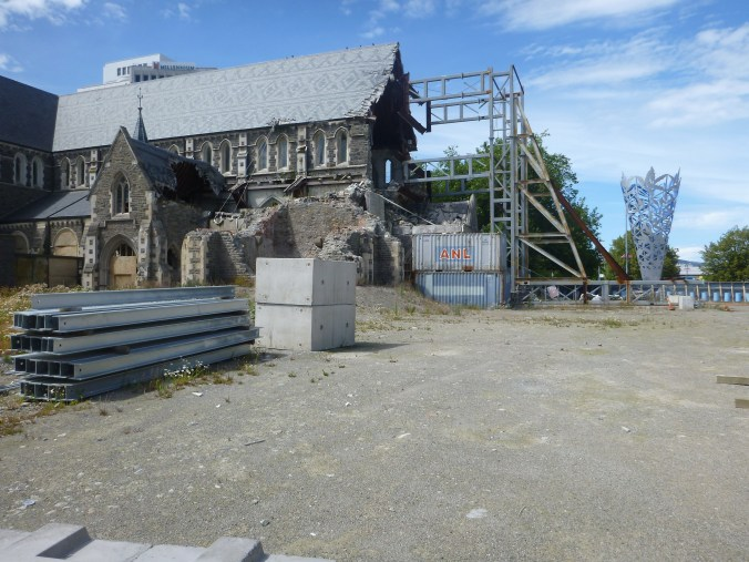 Christchurch quake aftermath