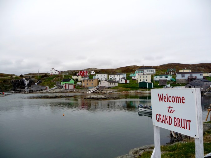 The quaint little Grand Bruit - I was very sad to leave this beautiful isolated place.