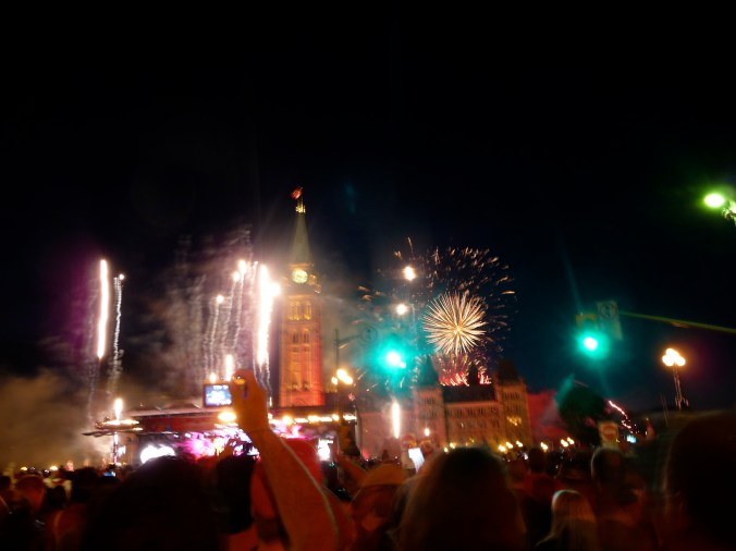 Ottawa lights up the sky on Canada Day