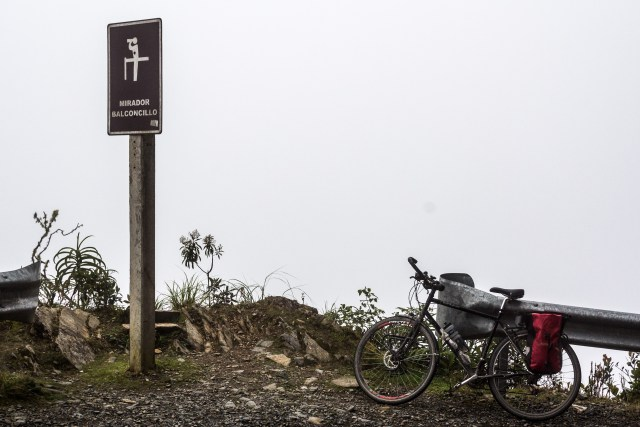 Viewing platforms of Death Road, I'm sure it was better on a clear day