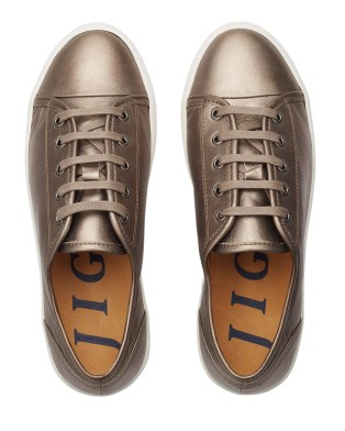 Ayda leather trainers - No