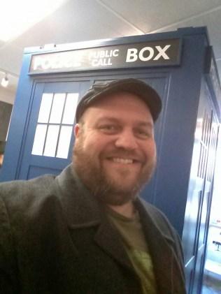 Chris & the TARDIS