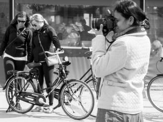 Capturing.