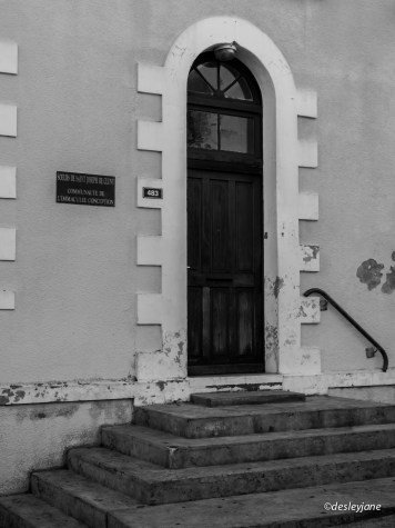 Church Side Door, Noumea, South Pacific