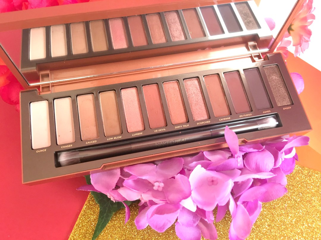 Urban Decay Naked Heat- 7 Looks in 7 days -Day 2 Scorched!